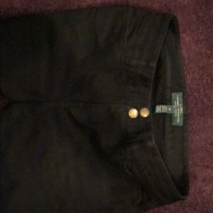 Women's Lauren black jeans size 6P